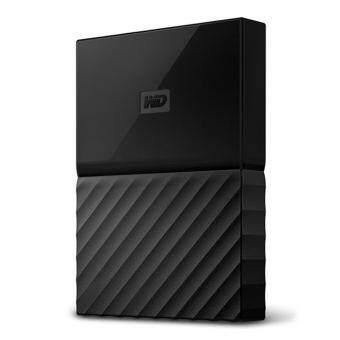 WD 1TB White USB 3.0 My Passport Portable External Hard Drive (WDBYNN0010BWT-WESN) - intl