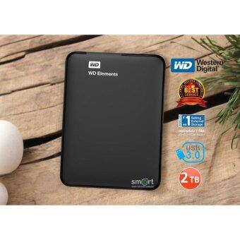 รีวิวพันทิป WD Elements Portable External Hard Drive 2TB (WDBU6Y0020BBK-EESN)