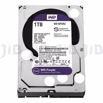 WD HARD DISK INTERNAL 1.0TB WD SATA-III 64 MB (WD10PURZ) PURPLE