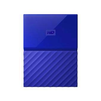 WD HDD - HARD DISK EXTERNAL 2.5 4TB MY PASSPORT 2017 BLUE (WDBYFT0040BBL)
