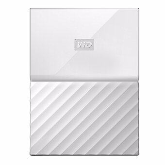 WD HDD - Hard Disk External _1.0 TB MY PASSPORT 2017 WHITE (WDBYNN0010BWT)