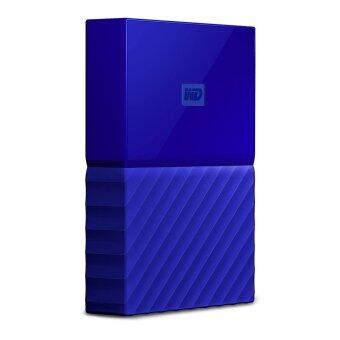 รีวิว WD My Passport 2017 4TB (Blue) (WDBYFT0040BBL-WESN)