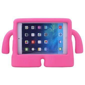 Welink Apple iPad Air 1/Air 2 EVA เคส/ตู้ EVAน้ำหนักเบาเคลื่อนย้ายได้การป้องกันเด็กเปิดประทุนกันกระแทกชั้นจัดการแท็บเล็ตตัวเล็กตลกกรณีเคสสำหรับApple ipad Air 1/Air 2 (สีม่วงแดงเข้ม)