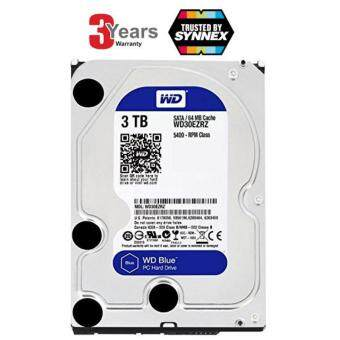 WESTERN HDD Hard Disk Internal 3.0TB WD SATA-III 64MB WD30EZRZ (BLUE) -3 YEARS (BY SYNNEX SERVICE CENTER)