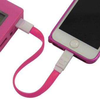 รีวิวพันทิป X-Cable Magnet USB Tofor Apple Lightning 16pin Cable - Pink (Color:c0)