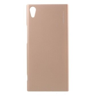 X-LEVEL Metallic for Sony Xperia XA1 Ultra Slim Hard ProtectionShell - Gold - intl