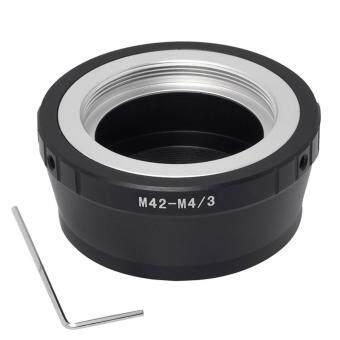 XCSource อะเดปเตอร์ริง สำหรับ M42 Mount Lens to Micro M4/3Panasonic G3 GH2 GF2 GF3 GF7 (image 1)
