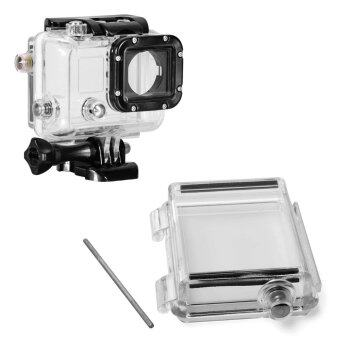 XCSource Waterproof Protection Bacpac LCD Screen Back Door Coverfor Gopro Hero 3
