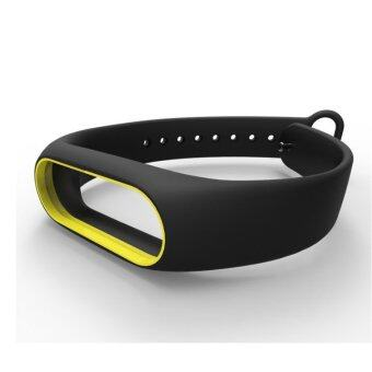 Xiaomi Wristband Strap for Xiaomi Mi Band 2 สายรัดข้อมือ (Yellow Black)