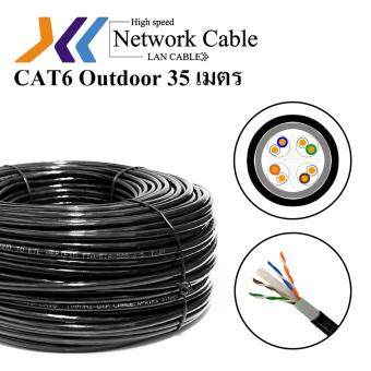 ประกาศขาย XLL LAN Cable CAT6 Outdoor 35M