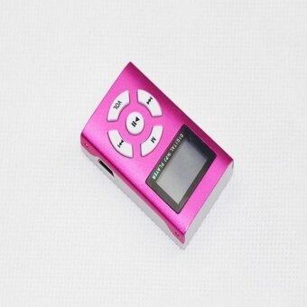 YBC Mini USB MP3 Player LCD Screen Support 32GB Micro SD TFCardGifts