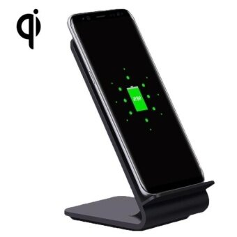 Harga YoLike A8 10W QI Wireless Standard Stand Plastic Charger ForSamsung Galaxy S8 / S8 + / S7 Edge / S7 / S6 / S6 Edge / S6 Edge +/ Note 5 (Black) - intl