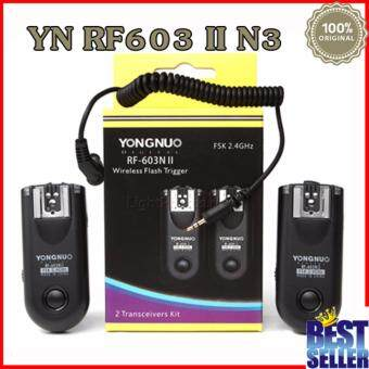 Yongnuo RF-603II N3 Flash Trigger for Nikon DSLR