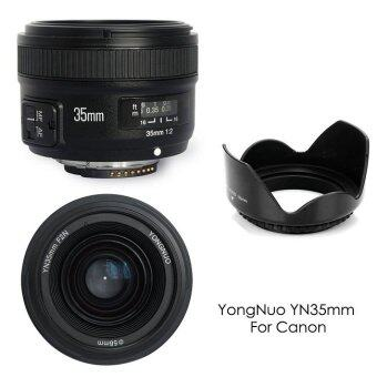 YongNuo YN35MM F2 Wide Angle Large Aperture Auto Focus Lens for Canon EOS Cameras
