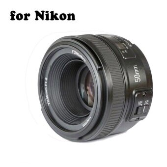 YONGNUO YN50mm F1.8 Standard Prime Lens Large Aperture Auto Manual Focus AF MF for Nikon DSLR Cameras - intl