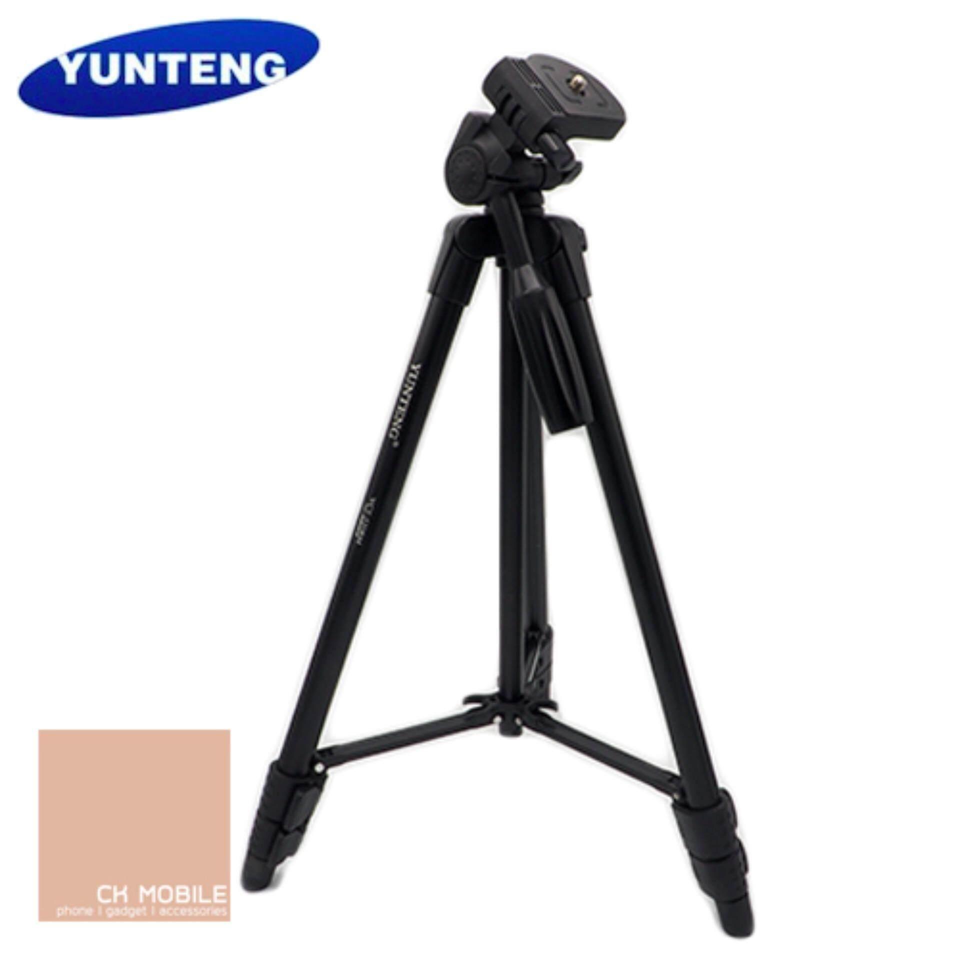 ขาตั้งกล้อง Yunteng รุ่น VCT-520 (สีดำ)