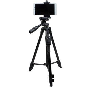 YUNTENG ชุด ขาตั้งกล้อง พร้อมรีโมทบลูทูธ หัวต่อมือถือในตัว รุ่น Yunteng VCT-5208 (สีดำ) (image 0)