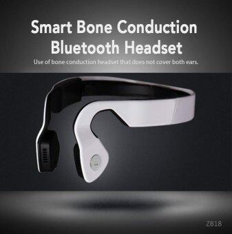 ZB18 Smart Bluetooth Bone Conduction Headphones Earphone Sports Wireless Hands-free headset For xiaomi Iphone IOS Android phone - intl