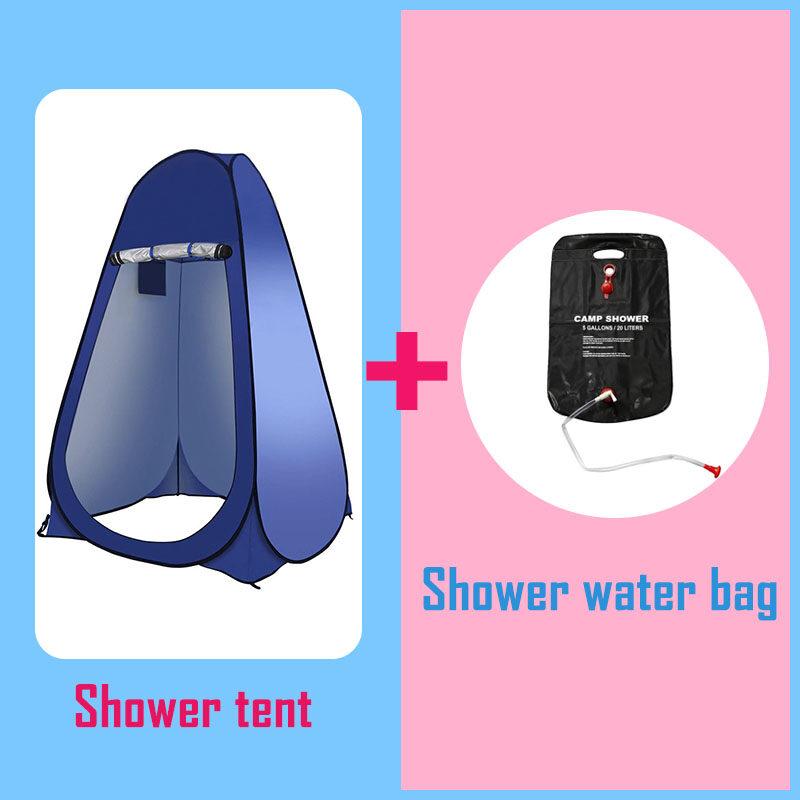 KEEPFIT เต็นท์สำหรับอาบน้ำ เต็นท์ ห้องอาบน้ำฝักบัว เต็นท์อาบน้ำแบบพับได้ กันน้ำความเป็นส่ว นตัวเต็นท์ห้องน้ำแบบพกพา ห้องน้ำเคลื่อนที่