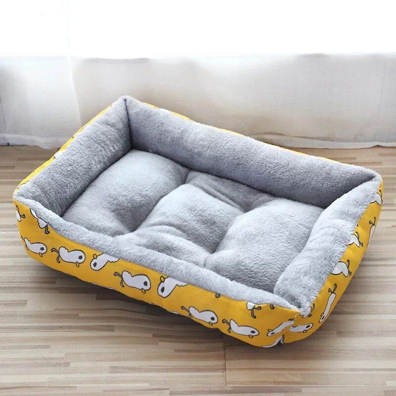 เตียงสุนัขสัตว์เลี้ยง ขนแกะ เบาะนอนที่นอน เบาะนุ่ม สำหรับสัตว์เลี้ยง สุนัข และแมว ที่นอนสัตว์เลี้ยง** ไม่มีหมอนนะคะ**-C108