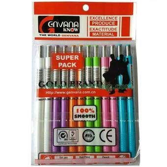 ต้องการขาย ดินสอกด ดินสอเขียนแบบ ไส้ขนาด 0.5 มม. 12อัน/แพค (คละสี)