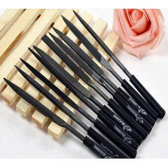 10 Pcs/Set Needle File Set Files For Glass Metal Stone Jewelry WoodCarving Craft - intl