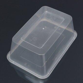 10 x อ่างล้างภาชนะพลาสติกมีฝาตู้ไมโครเวฟอาหารกล่องอาหาร 500 มล. - intl - 4