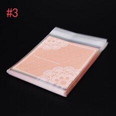 ขาย 100pcs/Lot Cookie Packaging Pink Rabbit Lovely Bear Self-Adhesive Plastic Bags For Biscuits Snack Baking Package PNT : #3 - intl