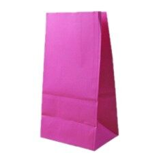 10pcs Gift Bags Craft Packing Bread Food-Grade Kraft Paper Bags Rose - intl