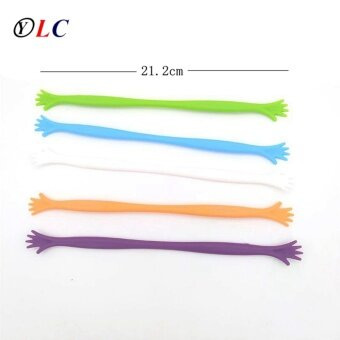 10pcs Sweettreats HELP ME Hand Drink Stirrers Bar Pub Party Kitchen Cocktail Swizzle Sticks - intl