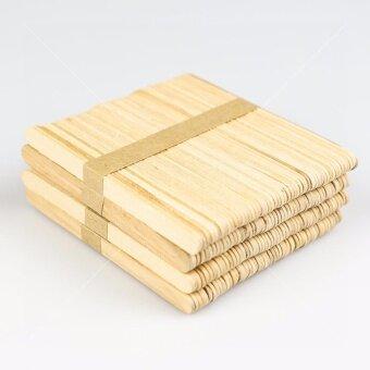 ไม้ไอติม ขนาด 114 มม. จำนวน 3 แพ็ค ( 1 แพ็คมี 50 ไม้ ) ...