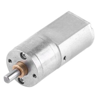 12V DC High Torque Speed Reduction Gear Motor20mm Diameter (100RPM)- intl