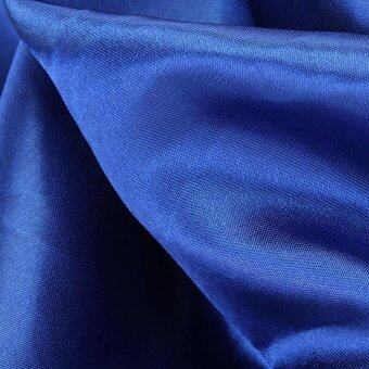 ผ้าคลุมปูโต๊ะสีน้ำเงินสำหรับงานเลี้ยง ขนาด 145 x 145 ซม. - 3