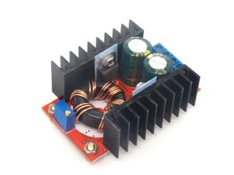 150W Boost Converter DC-DC 10-32V to 12-35V Step Up Voltage ChargerModule - intl