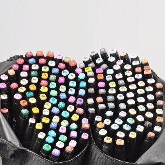 168 สีเซ็ต TouchFive แอลกอฮอล์กราฟิกอาร์ตสองคำแนะนำดี ๆเรื่องปากกาเมจิก