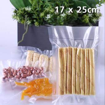 ถุงสูญญากาศลายนูน 17 x 25cm