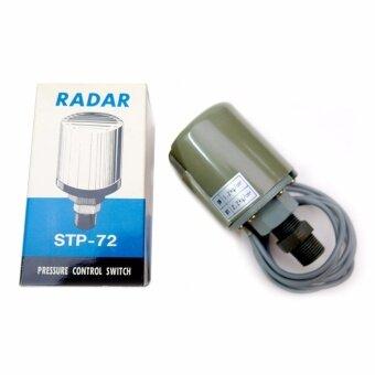 สวิทซ์แรงดันปั๊มน้ำอัตโนมัติ ขาคู่ (1.8-2.4 Bar) Double L RADAR\nรุ่น ST-72 ไต้หวันแท้