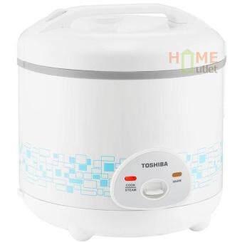 ประกาศขาย หม้อหุงข้าวอุ่นทิพย์ 1.8 ลิตร เคลือบ Healthy Flonสีฟ้า รุ่น TOSHIBA RC-T18AFS(SB) (White)
