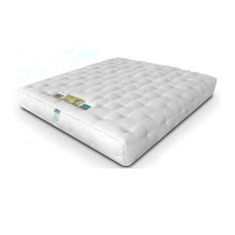 1deelertที่นอน พ็อกเก็ตสปริง+ยางพาราชนิดนุ่ม ขนาด 5ฟุต หนา 14นิ้ว รุ่น Platinum