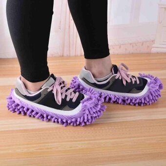 1PCS Multifunctional Chenille Micro Fiber Slipper Shoes CoversClean Slippers Lazy Drag Shoe Mop Caps Household Tools