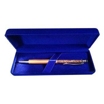 อยากขาย ปากกาคริสตัลประจำเดือนเกิด2 in 1 November-Citrine-PCS10