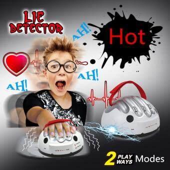 เครื่องจับเท็จ เกมส์ดักจับโกหกเล่นได้ 2 โหมด Lie Detector 2 Mode Selections: Vibrating Electric Shock
