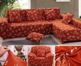 รีวิว 2 Seater High Elasticity Anti-mite Floral Chair Covers Sofa CoverSlipcover Couch