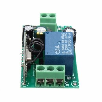 220V 10A 315/433MHz 1CH Channel Wireless Relay Remote Control Switch Receiver 433MHZ - intl
