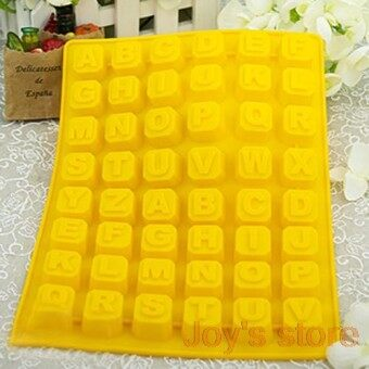 26 Letter Silicone Mold Cake Cookie Jelly Chocolate Muffin Baking Bakeware Diy Mould Mold - intl