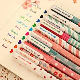 2PCS Kawaii Cute Korean Stationery Pens For Writting, Best Gift forChild - intl