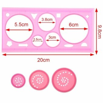 ... Barrel Paper Drawings Tubeart Supplies Intl; Page - 2. 2Pcs Spirograph Multifunction Puzzle Graphic Ruler Plastic BoardDrawing Ruler Painting Supplies