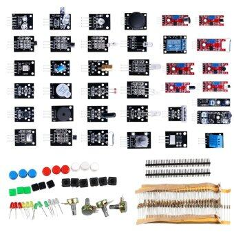 37-in-1 Arduino Sensor Module Pack Learning Package Kit ElectronicComponents Kit for Arduino UNO - intl