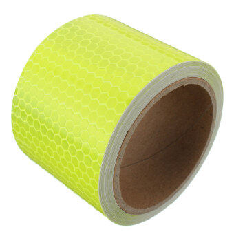 3M Safety Reflective Warning Conspicuity Film Sticker Strip SelfAdhesive tape Yellow