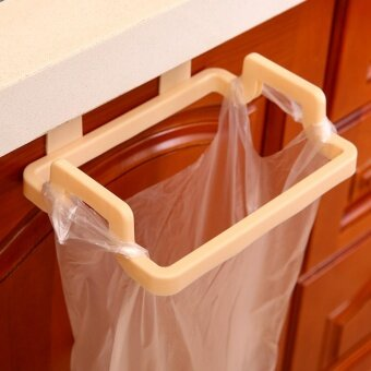 3pcs Multi-functional Plastic Hanger Rack Pothook for Bag FoodRubbish (Yellow) - intl